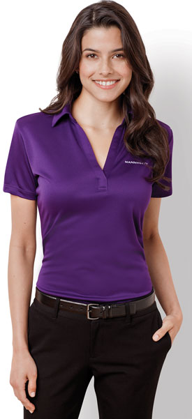 Ladies Port Authority® Silk Touch™ Performance Polo L540