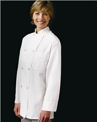 0403 Eight Pearl Button Chef Coat